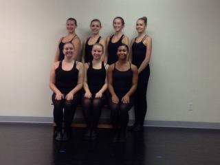 Apprentices:  Standing, left to right: Sydney Riddle, Tessa Griffin, Autum Holcomb, Annalise DeGennaro Sitting: Karianna Radabaugh, Clarice Alexander, Shaylee Sadler